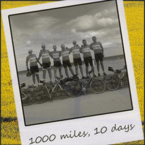 NEWS: 1,000 mile cycle challenge in 10 days